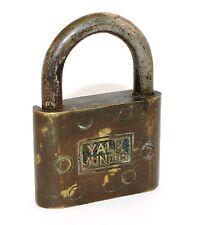 VINTAGE YALE JUNIOR PADLOCK - No key - SH114