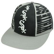 MLB Chicago White Sox Old School Snapback Vintage Triple Threat Hat Cap