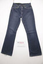Levis 529 bootcut boyfriend jeans d'occassion (Cod.U585) Tg.43 W29 L34 femme
