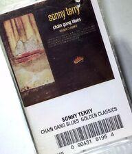 SONNY TERRY Chain Gang Blues Golden Classics Cassette NEW SEALED
