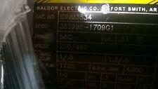 Baldor IDNM3534  1/3 HP Electric Motor