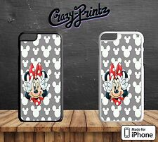 Minnie Mouse Peace Ears Cool Hard Case Cover for all iPhone Model B53