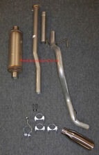 """13 - 15 Toyota Tacoma Cat-back Single Exhaust Side Exit - w/ MagnaFlow 6"""" Round"""