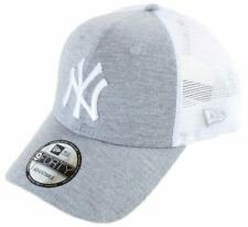 99e6343178498 New Era NY Yankees Trucker Curve Peak Heather Grey Hat Cap