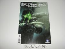 Tom Clancy's Splinter Cell Echoes #1 Comic Dynamite 2014 Sam Fisher Video Game