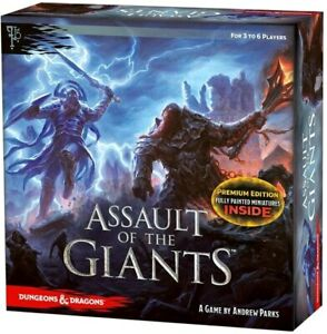 Dungeons & Dragons - Assault of the Giants Premium Board Game-WZK71616