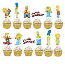 THE SIMPSONS BIRTHDAY BANNER BALLOON PARTY DECORATION CUPCAKE TOPPER SUPPLIES