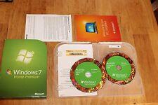 GENUINE Microsoft Windows 7 Home Premium 32/64-Bit. Full install Retail Version