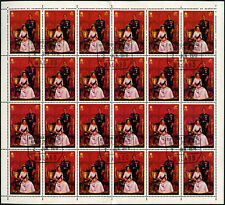 Equatorial Guinea 1978, 30e Coronation 25th Anniv Cto Used Full Sheet #V5642