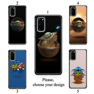 Baby Yoda case for Galaxy S20 + Ultra S10 S9 S8 S7 Note 20 10 9 8 plus TPU SN