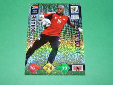 KHUNE AFRIQUE SUD PANINI FOOTBALL CARD FIFA WORLD CUP 2010  ADRENALYN XL