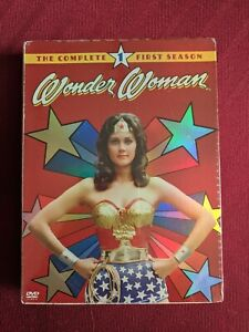 (DVD) WONDER WOMAN - The Complete Series (2017, S01,02,&03 Boxsets)