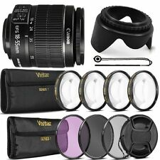 Canon EF-S 18-55mm f/3.5-5.6 IS II Lens + Accessory Kit for Canon EOS T5 T6 T6i