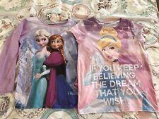 Girls Next Disney Tops Cinderella & Frozen Age 11