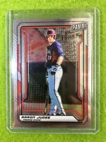 AARON JUDGE CARD JERSEY #29 FRESNO ST YANKEES 2019 National VIP SILVER CHROME SP