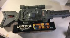 STAR WARS VINTAGE 1983 LASER RIFLE FIGURE CARRY CASE IN ORIGINAL PACKAGING