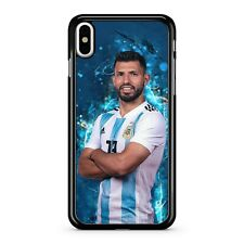 Sergio Agüero jugador de fútbol argentino el mejor jugador vivo Teléfono Estuche Cubierta
