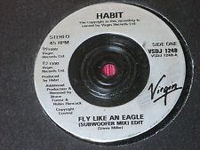 """Habit:  Fly like an eagle  UK PROMO EX+ 7"""""""