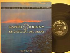 DISCO LP - SANTO E JOHNNY - LE CANZONI DEL MARE- CANADIAN AMERICAN CAN/LP 73 EX+