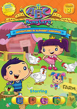ABC Monsters: Adventures in Alphabet Gardens - Starring EFGH (DVD, 2015)