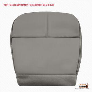 1992 - 1999 Ford E Series Econoline Van PASSENGER Bottom Vinyl Seat Cover Gray