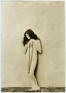 Enchanting Ziegfeld Girl Lina Basquette Orig. Alfred Cheney Johnston Photograph