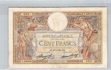 FRANCE 100 FRANCS LOM 23.5.1935 C.48434 N° 1210827990 PICK 78c