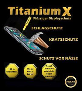 Displayschutz flüssig Titanium X 9H Handy Tablet Nano