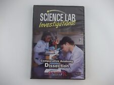 New DVD Science Lab Investigations ANATOMY DISSECTION Schlessinger Media