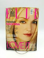 Elle Magazine February 2001 Madonna Cover 150 Fresh Spring Looks