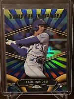 2016 Topps Chrome Adalberto Raul Mondesi Rookie Refractor Youth Impact SP Royals