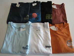 Billabong Mens 100% Cotton Tshirts Nwt
