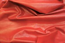 Red Leather Hide Upholstery Whole Full Cowhide 32 Square Feet Aniline Dyed