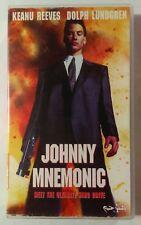 Johnny Mnemonic VHS 1995 Cyberpunk Robert Longo Keanu Reeves Arabic Version