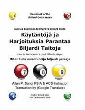 Drills and Exercises to Improve Billiard Skills (Finnish) : How to Become an...
