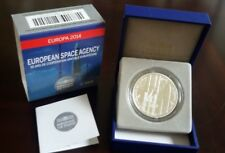 "France 10 Euro Silver Proof Coin Europe 2014  ""European Space Agency"" new"