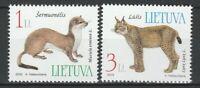 Lithuania 2002 Fauna, animals 2 MNH stamps