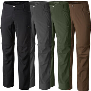 "New Mens Columbia ""Silver Ridge Stretch"" Convertible Omni-Shield UPF 50 Pants"
