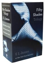 Fifty Shades of Grey, 50 Shades Darker, 50 Shades Freed Trilogy Boxed Set NEW!
