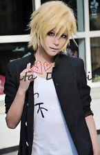 APH Axis Powers Hetalia England Arthur Inu x Boku Cosplay wig blonde Anime hair