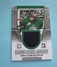 2013-14 Between the Pipes Jerseys Silver #GUM09 Cole Cheveldave