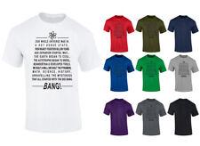 Big Bang Theme Tune Lyrics Theory T-Shirt - Mens Womens & Kids Sizes