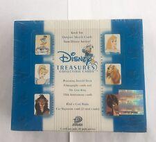 Upper Deck Disney Treasures Series 2 Trading Card Box, New Sealed - Very HTF