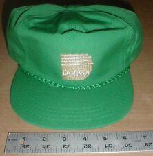 New Green Denver vtg promotional baseball cloth hat Co Colorado ? not Mesh