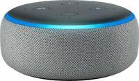 Amazon - Echo Dot (3rd Gen) - Smart Speaker with Alexa - Heather Gray