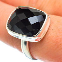 Black Onyx 925 Sterling Silver Ring Size 9 Ana Co Jewelry R42644F