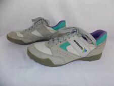 Shimano Eur 43 Gray green purple Cycling Shoes Lace Up SPD US 9 - 9.5 Women's
