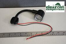Campervan 12v LED Lighting - KURS  Flexistem 130mm Maplight/Reading Light