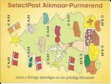 Stadspost Alkmaar - Purmerend - Velletje Kerst, Christmas, Weihnachten 2002