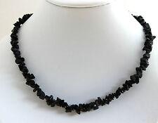 ONICE Collana pietre preziose ca.45 cm lunghezza con schegge, collana, Peltate